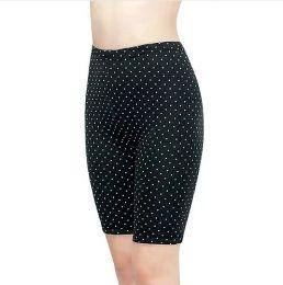 Панталоны женские, 1-80Н, С180Н чёрные горох