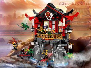 Конструктор Lari Ниндзя Храм Воскресения 10806 (70643) 809 дет