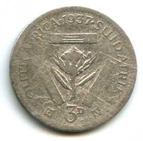 ЮАР 3 пенса 1937