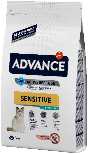 Сухой корм для стерилизованных кошек Sterilized с лососем и ячменём 3 кг