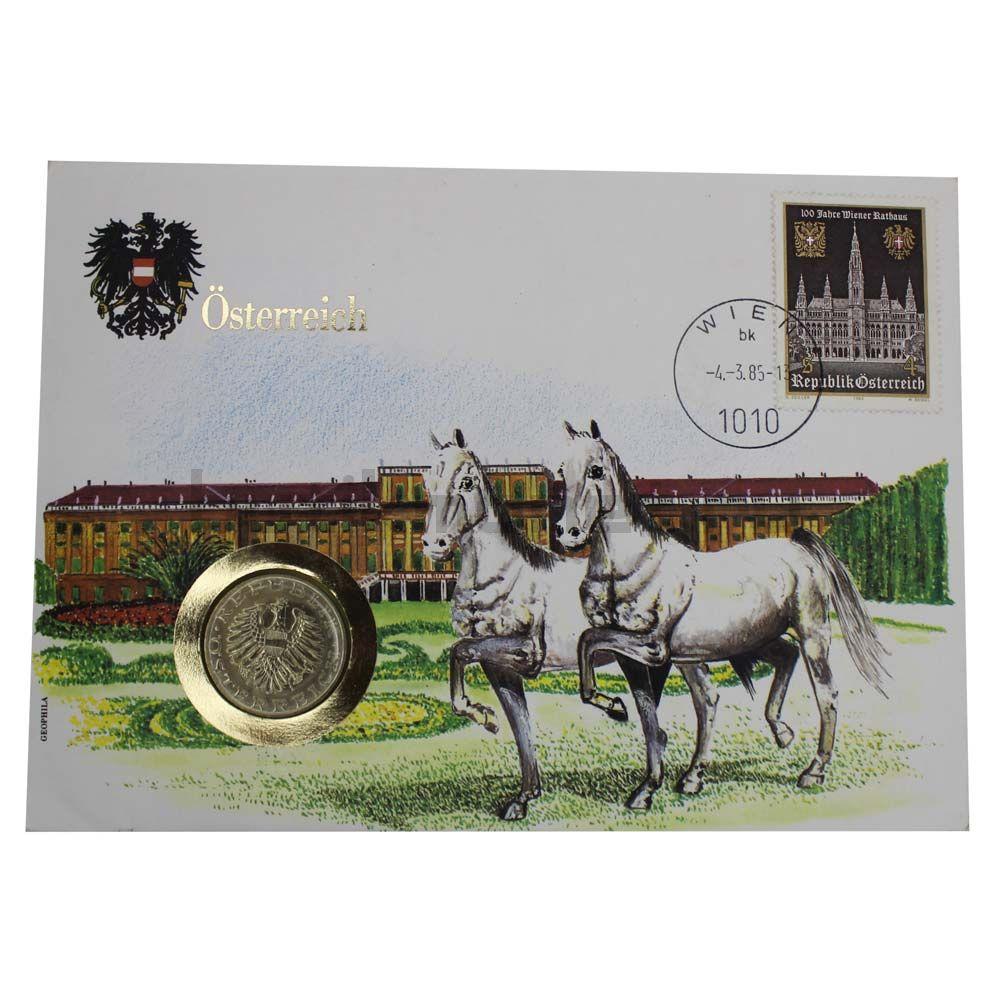 10 шиллингов 1985 Австрия (В буклете)