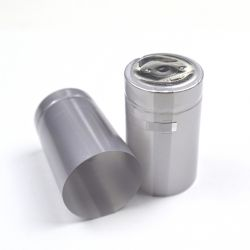Термоусадочный колпачок серебристый 50х30 мм, (10 шт)