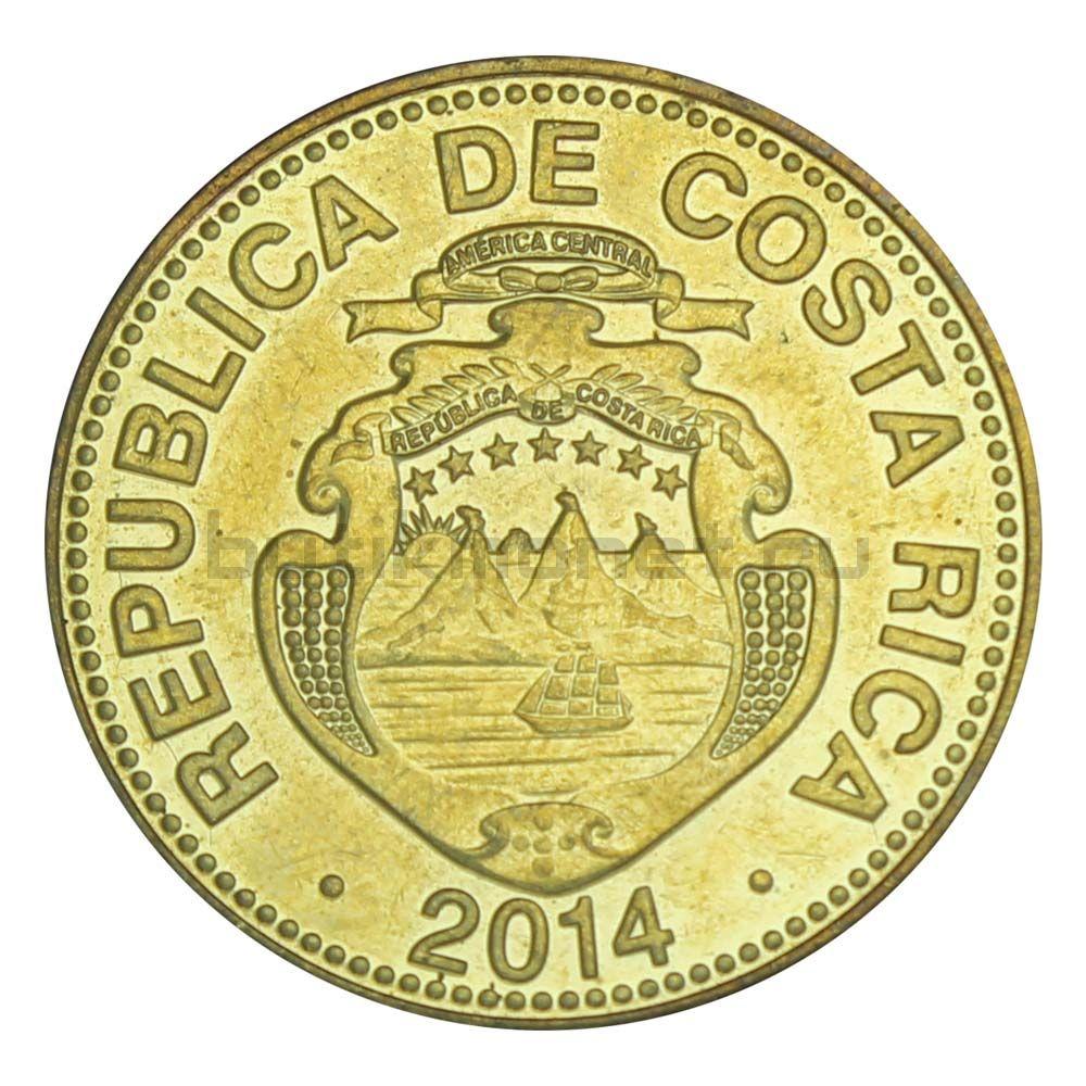 25 колонов 2014 Коста-Рика