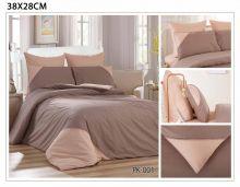 Постельное белье Перкаль с кружевом 1.5-спальный Арт.PK-001-1