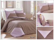 Постельное белье Перкаль с кружевом 1.5-спальный Арт.PK-002-1