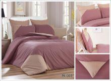 Комплект постельного белья Перкаль с кружевом  1.5-спальный  Арт.PK-005-1
