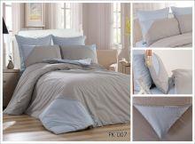Комплект постельного белья Перкаль с кружевом  1.5-спальный  Арт.PK-007-1