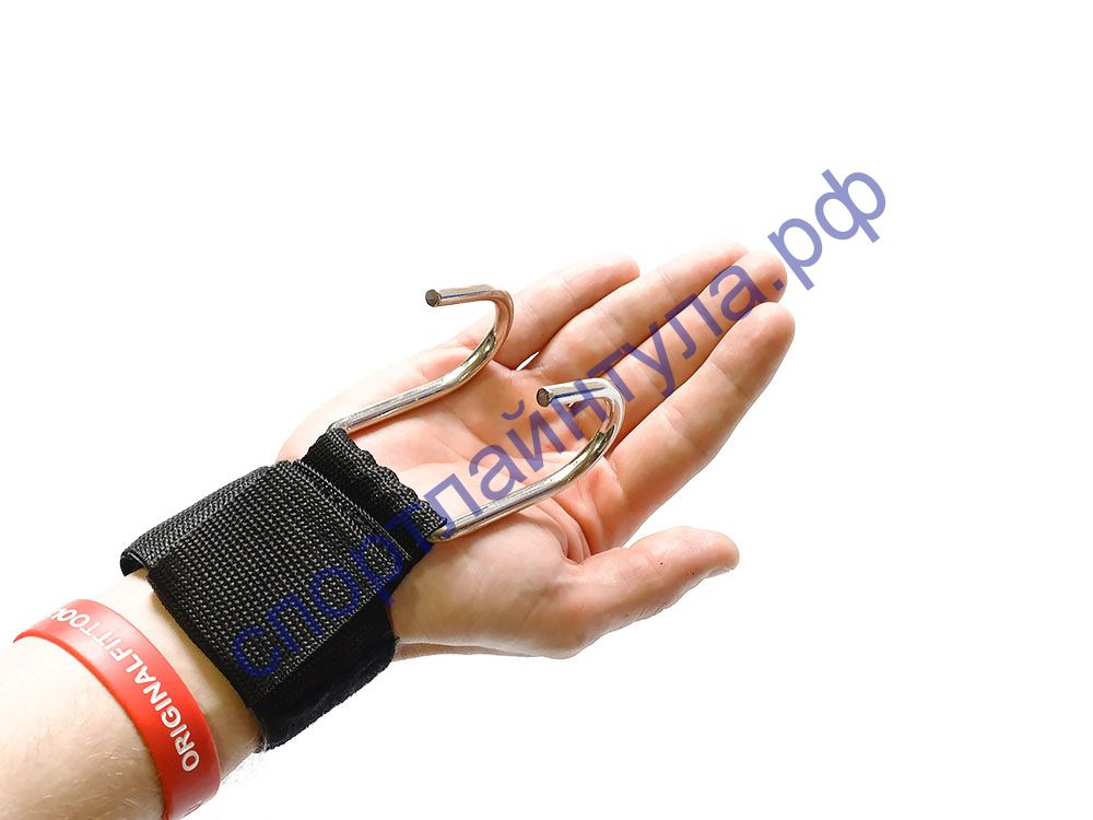 Ремни на запястье с крюками FT (пара) для уменьшения нагрузки на пальцыFT-PROGRIPS