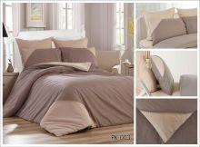 Комплект постельного белья Перкаль с кружевом  евро  Арт.PK-003-3