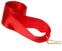 Лента для медали красная
