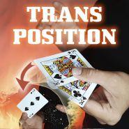 """Карточный гиммик """"Флэп транспозиция"""" (две карты в одну со сменой значения)"""