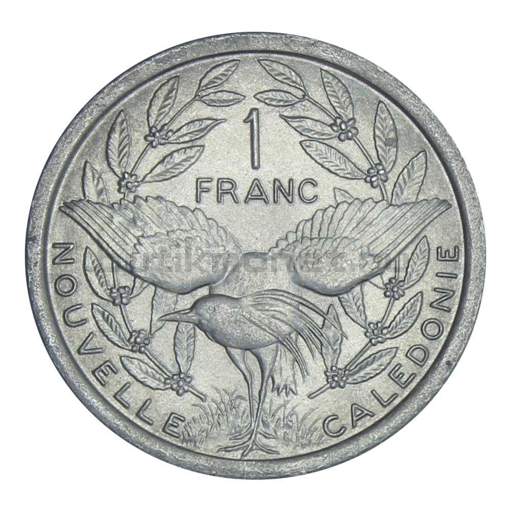 1 франк 1977 Новая Каледония