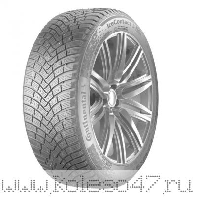 235/45R20 100T XL FR Continental Ice Contact 3