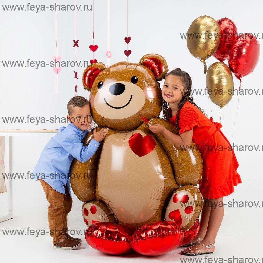 Шар Мишка 121 см