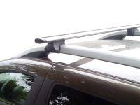 Багажник на рейлинги Renault Duster 2021-..., Inter Favorit, крыловидные дуги