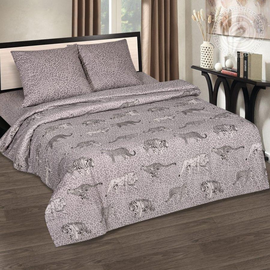 «Прайд» (DE LUXE) постельное белье Поплин 2-х спальный с евро