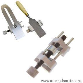 Точилка для заточки ножей рубанков и стамесок, боковой прижим, макс. ширина 80 мм ПЕТРОГРАДЪ М00003437