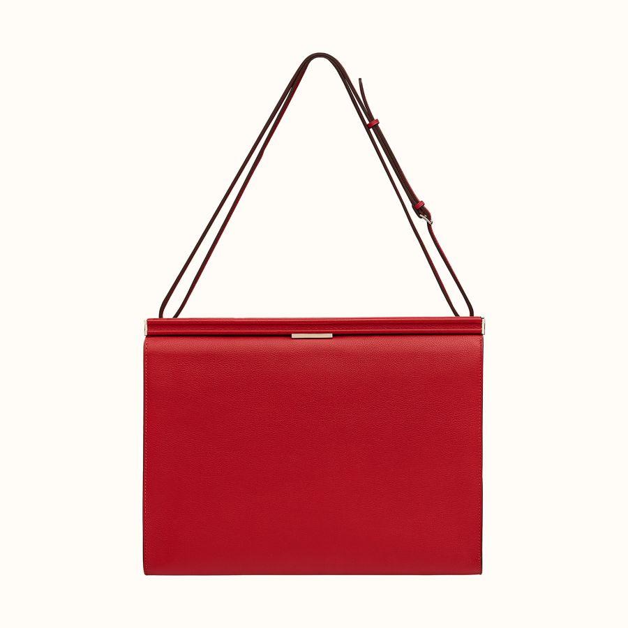 Сумка Hermes Clic-H 33 bag (Rouge Piment/Rouge Piment)