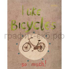 Тетрадь А5 48л.кл.Kroyter Bicycle 06289