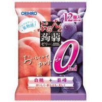 Orihiro желе персик и виноград 12шт