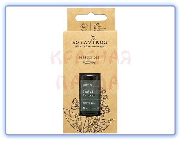 Парфюмированное масло Сантал-Ветивер Botavikos