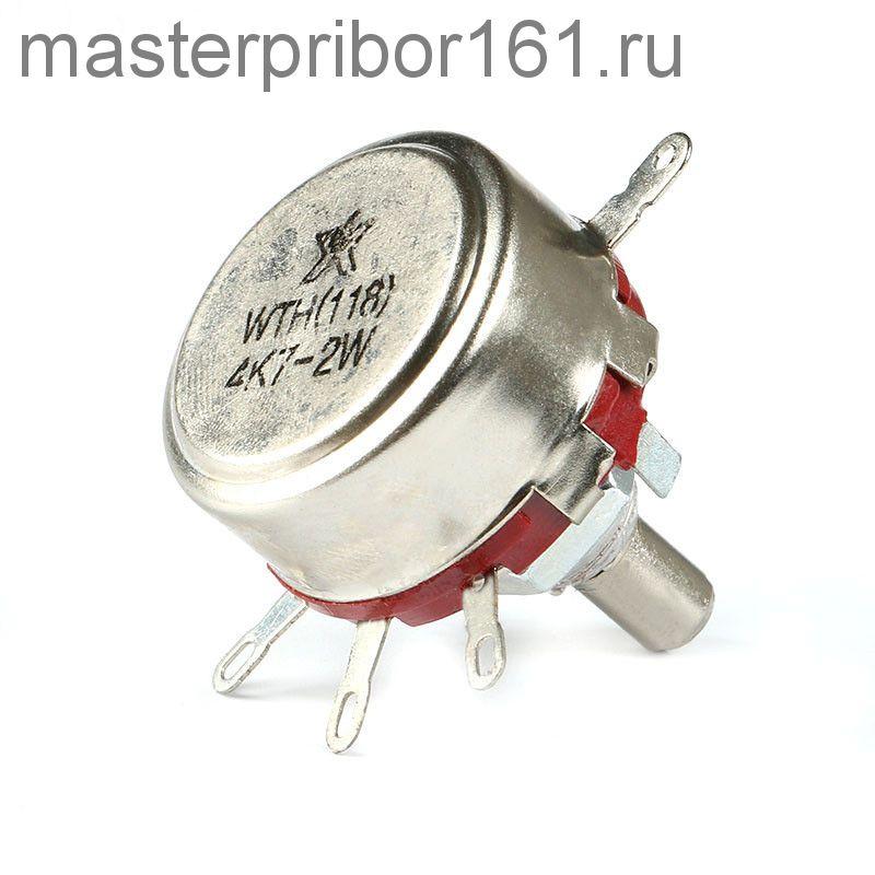 Потенциометр  WTH118   3.3 кОм