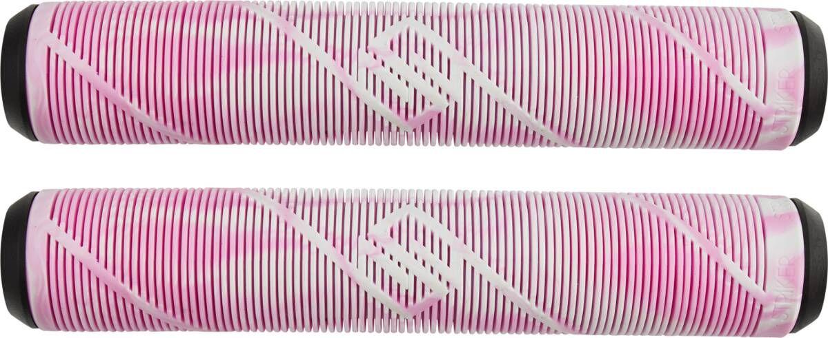 Грипсы Striker для самоката (белый/розовый)