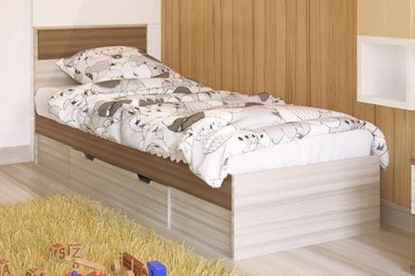 Кровать односпальная Next 71 без ящика с ортопедическим основанием