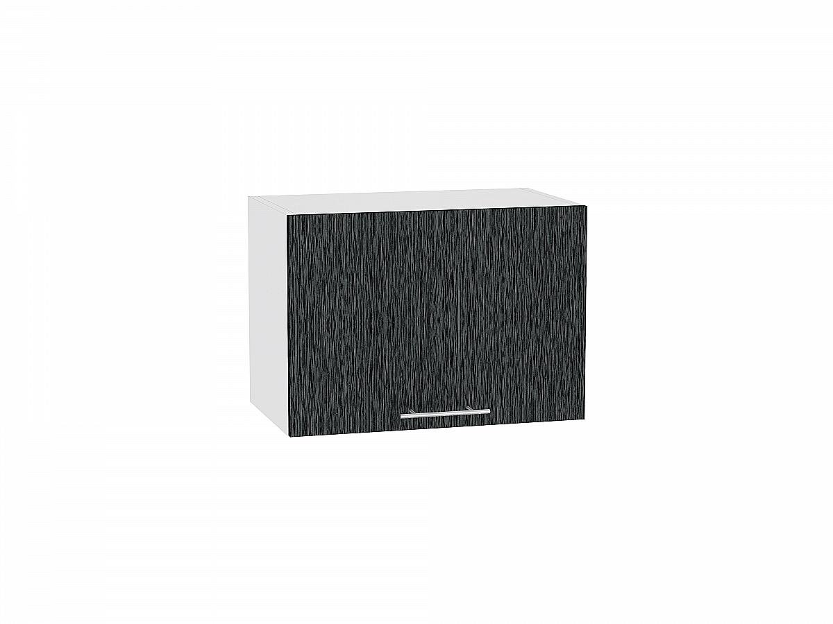 Шкаф верхний Валерия ВГ510 (чёрный металлик дождь)