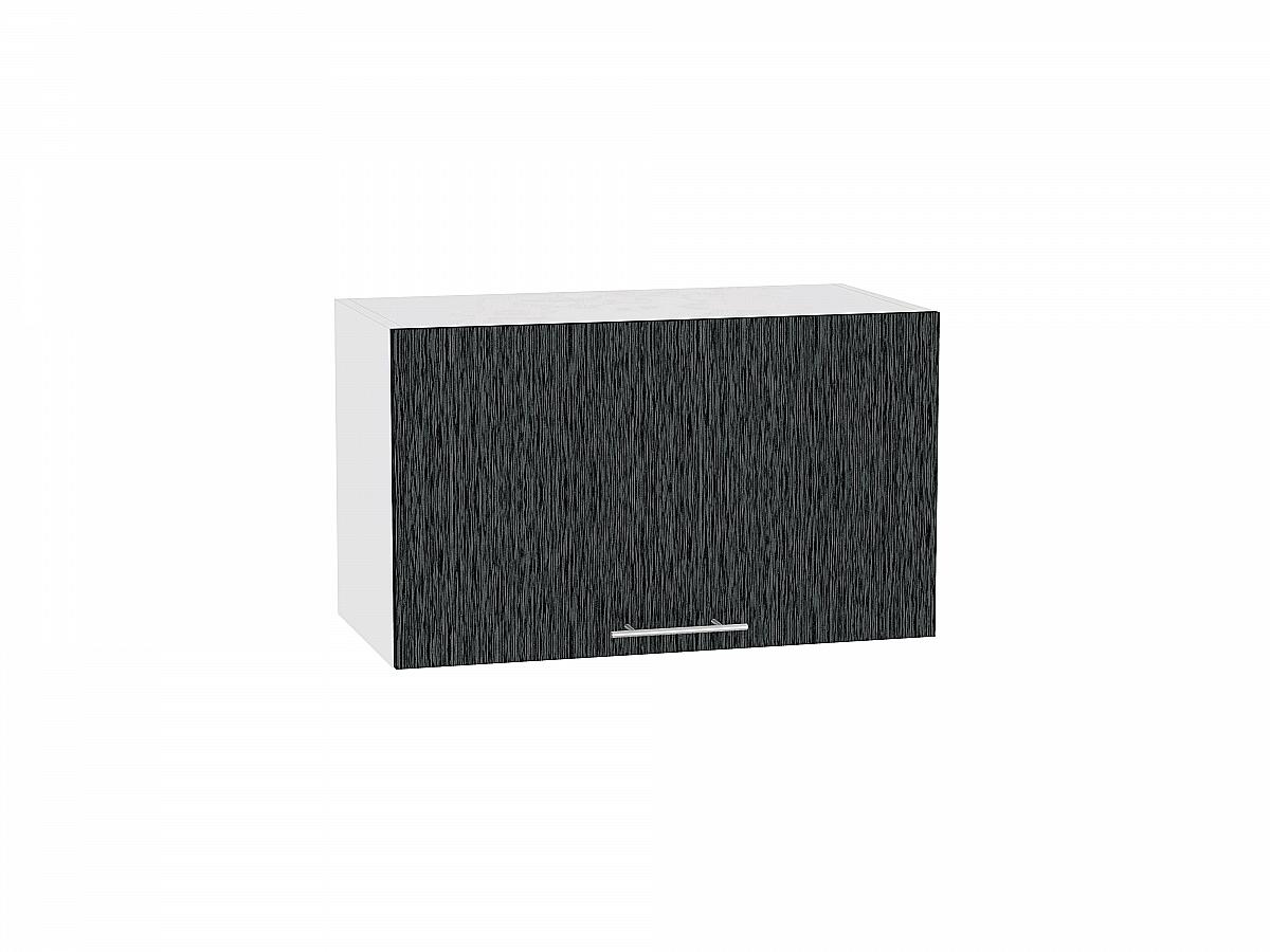 Шкаф верхний Валерия ВГ610 (чёрный металлик дождь)