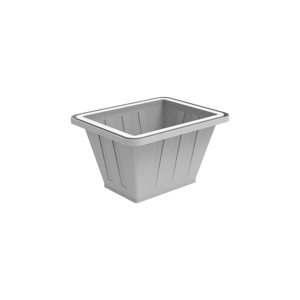Пластиковая ванна К 200 литров белая