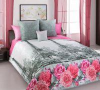 «Ностальжи 1» постельное белье Перкаль 2-х спальный с евро