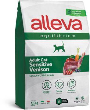 Alleva Equilibrium Sensitive Venison (Аллева Эквилибриум Сенситив с олениной) для кошек