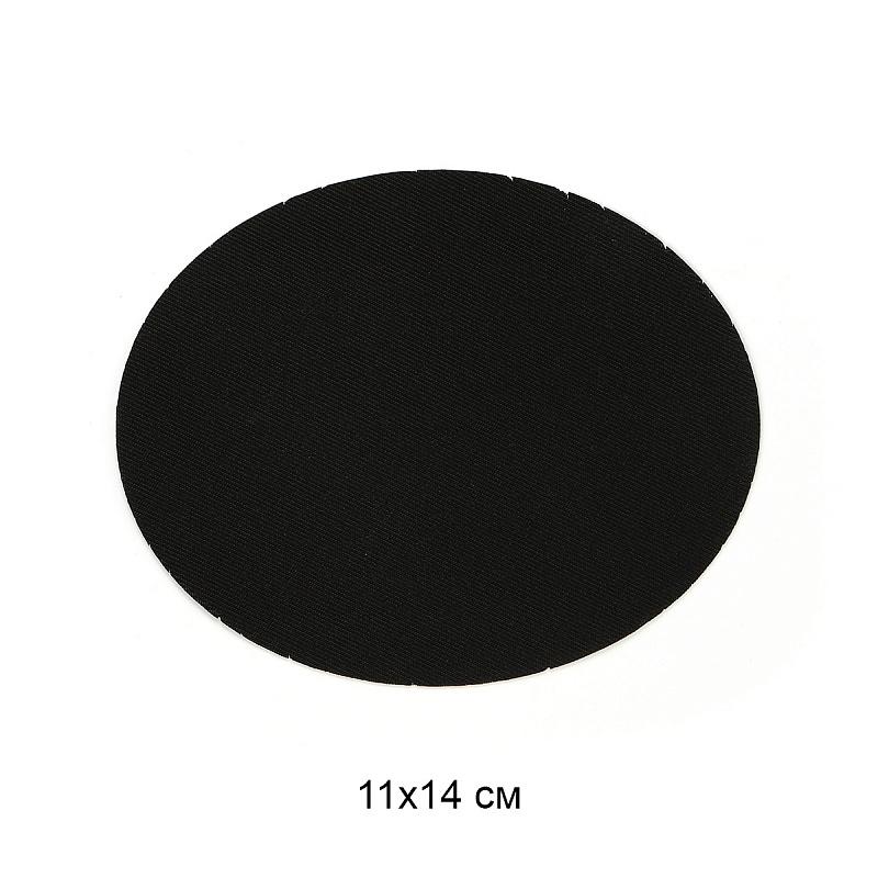 Заплатки термоклеевые овальные Под замшу 11 см х 14 см Разные цвета (ТЕР.RO.46)