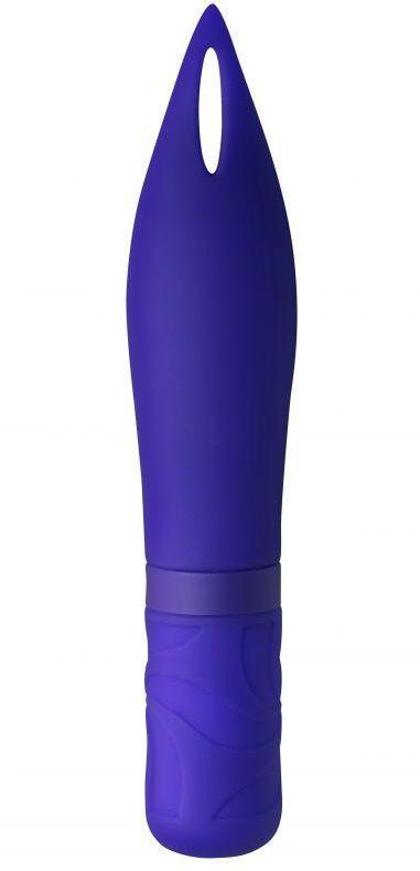 Синий мини-вибратор Airy's Mystery Arrow - 15,2 см.