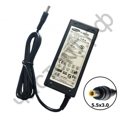 Адаптер для зарядки ноутбука SAM-26 (19В/ 3.16А/ 60Вт/5.5*3.0мм) сеть (17)