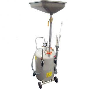 ES-2085 Установка для слива отработанного масла 80л. Воронка+6 щупов