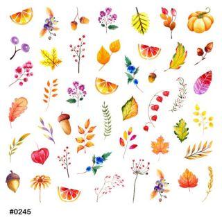 Слайдер-дизайн для ногтей № 0245