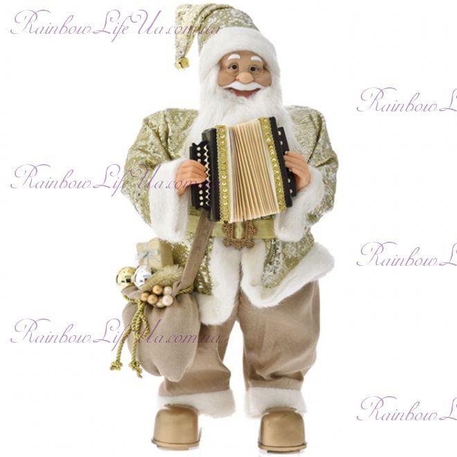 Рождественский Санта Клаус с музыкой 60 см