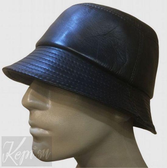 Шляпа-кожа-панама