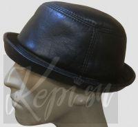 Шляпа панама кожаная Винтаж коричневый