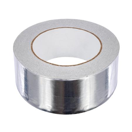 Лента Скотч фольгированный алюминиевый 100x50