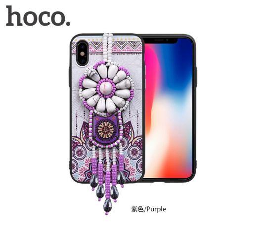 Защитный чехол HOCO Chinese dream для iPhoneX, пурпурный