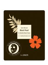 Gem Miracle Black Pearl O2 Bubble Mask Sheet(N)Маска гидрогелевая кислородная с черным жемчугом