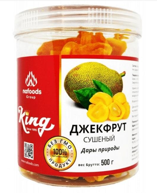 Джекфрут сушеный КИНГ 500гр