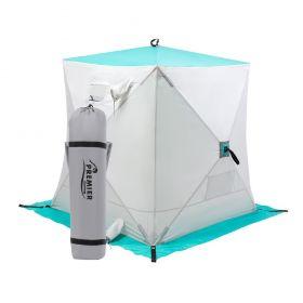 Палатка зимняя Premier Куб 1,5х1,5 biruza/gray