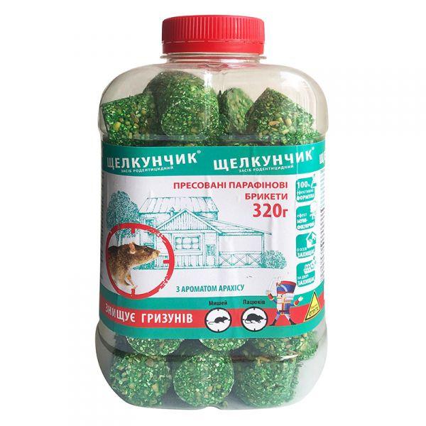 """""""Щелкунчик"""" (320 г), парафиновые брикеты с арахисом, Украина"""
