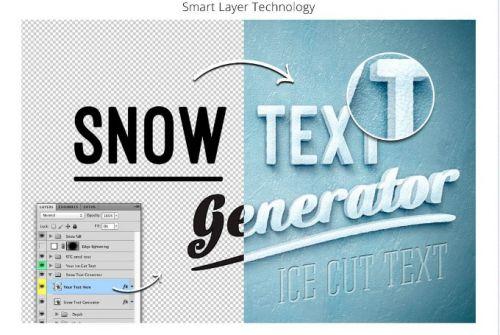 [Fresh Design Elements] Фантастический генератор снега