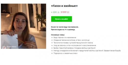 Газон и Хвойные (Кристианна Виниченко)