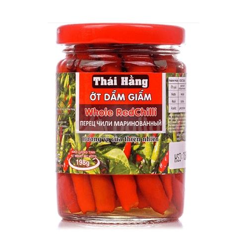 Перец Чили маринованные Thai Hang 198г